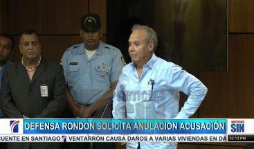 Defensa de Ángel Rondón pide anulación de acusación contra imputado de Odebrecht