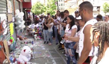 Multitudinario acto de sepelio del adolescente dominicano asesinado en El Bronx