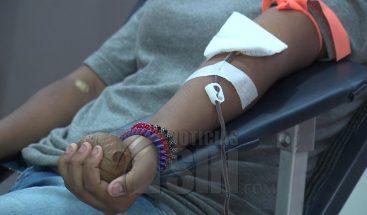 Un promedio de 90 mil personas donan sangre anualmente en RD