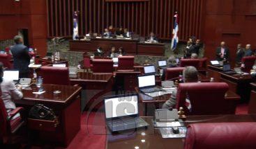Senadores lamentan que intereses de grupos mantengan ley de partidos estancanda