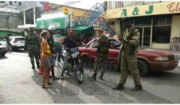 Militarizan diez barrios del Gran Santo Domingo, Santiago y San Juan de la Maguana