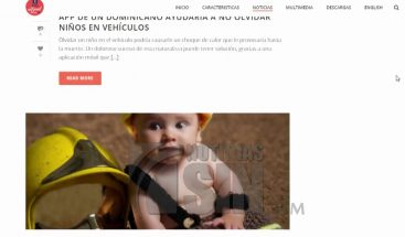 Aplicación ayudará a salvar vidas de bebes olvidados dentro de vehículos