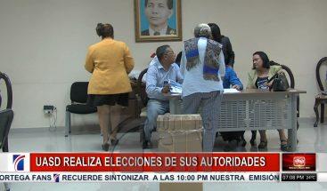 A esperas de los primeros resultados en elección de nuevas autoridades en la UASD