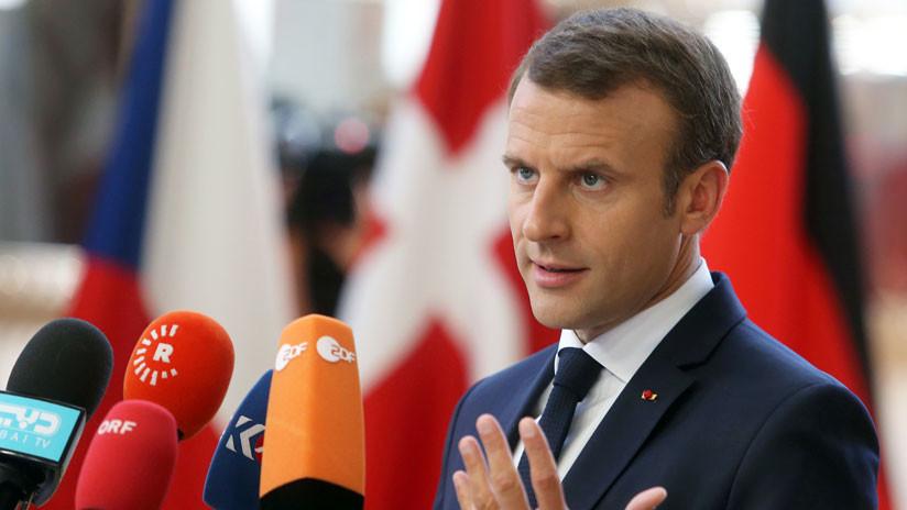 Macron anuncia que Francia no acogerá centros para migrantes
