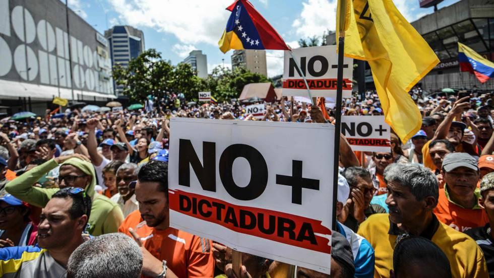 Oposición venezolana llama a una segunda jornada de protesta contra la crisis