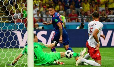 Juan Fernando Quintero resucita a Colombia en Mundial de Fútbol