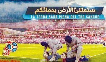 ISIS amenaza con bombardear estadios en el Mundial de Fútbol en Rusia