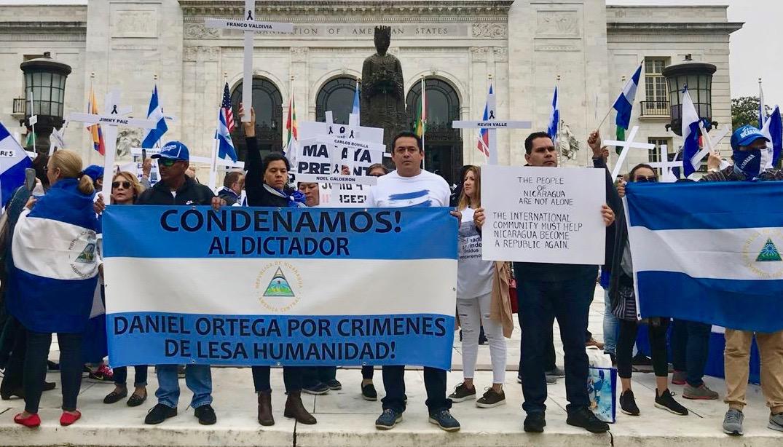 EEUU restringe visas a funcionarios involucrados en represión en Nicaragua