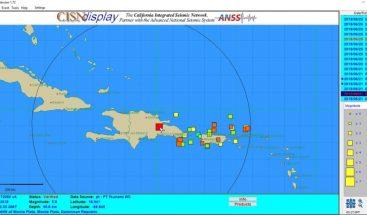 Temblor de tierra de magnitud 5.0 se siente en el territorio nacional