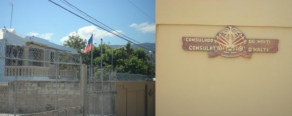 Haitianos exigen destitución de cónsul por supuestamente no representarlos
