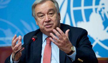 Guterres se reunirá con Putin y Lavrov y asistirá al Mundial de Rusia