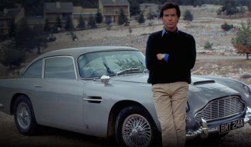 Sale a subasta el Aston Martin que James Bond conducía en