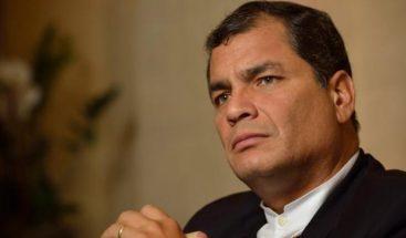 Jueza dispone que Correa se presente ante Corte ecuatoriana cada 15 días