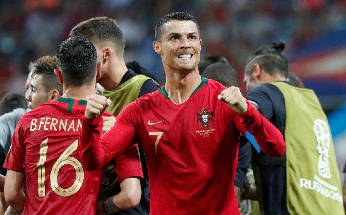 Cristiano, cuarto jugador que marca en cuatro Mundiales