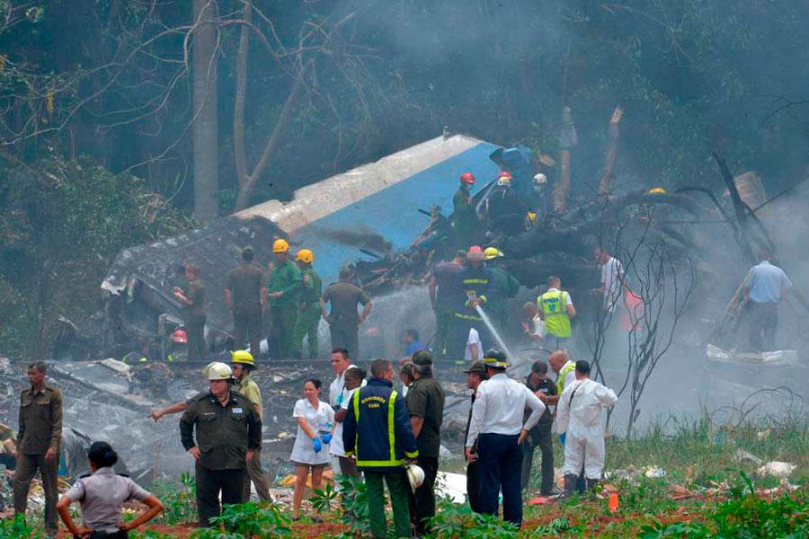 Única superviviente de accidente aéreo en Cuba estable pero en etapa crítica