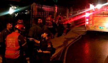 Estampida en fiesta en Caracas deja 17 fallecidos, incluyendo menores de edad