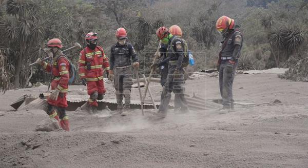 Brigadas rescatan 8 cadáveres lo que eleva a 84 los muertos en Guatemala