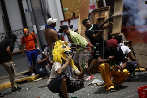Diez muertos, 62 heridos y 10 desaparecidos por las protestas en Masaya