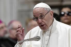 El papa dice que en la Iglesia