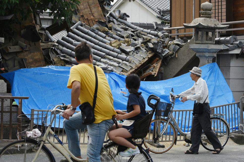 Un potente terremoto de 6,1 grados causa 4 muertos y 350 heridos en Japón