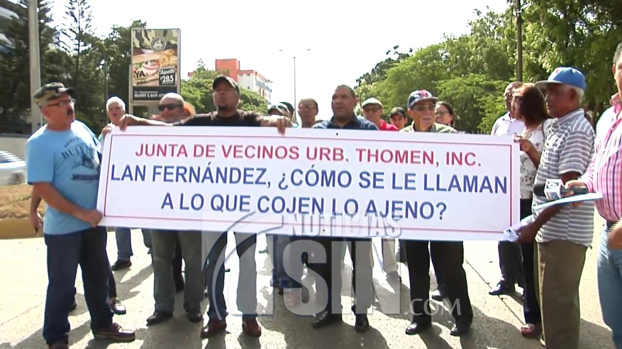 Juntas de vecinos de urbanización Thomen piden alcalde de Puñal no invadir áreas verdes
