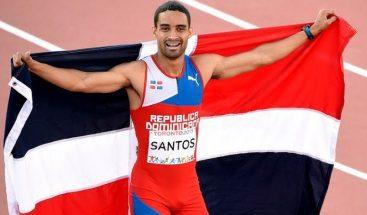 Luguelín Santos bate a los gallos españoles del 400