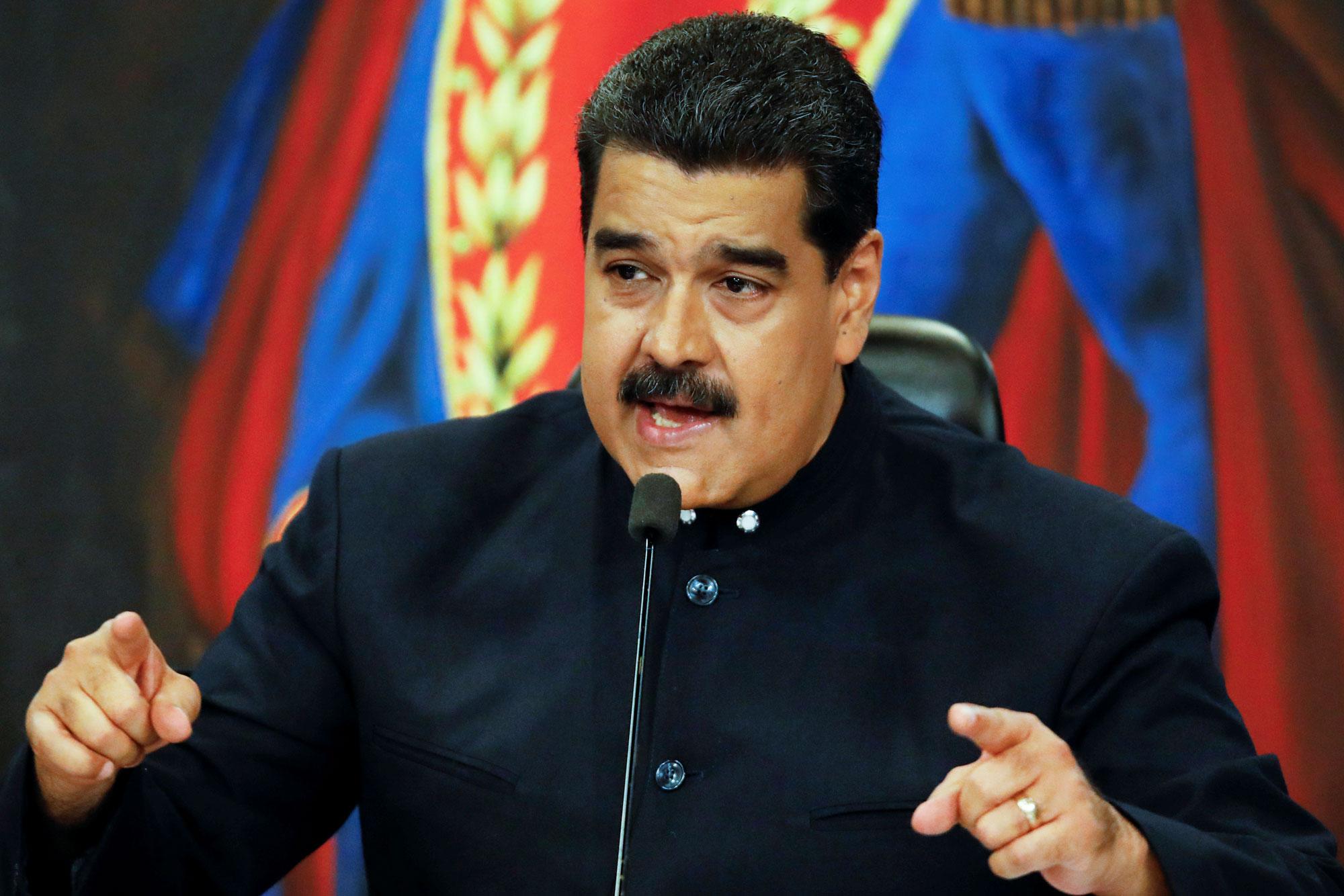 Maduro dice militar conspira desde RD y EEUU para derrocarlo en octubre