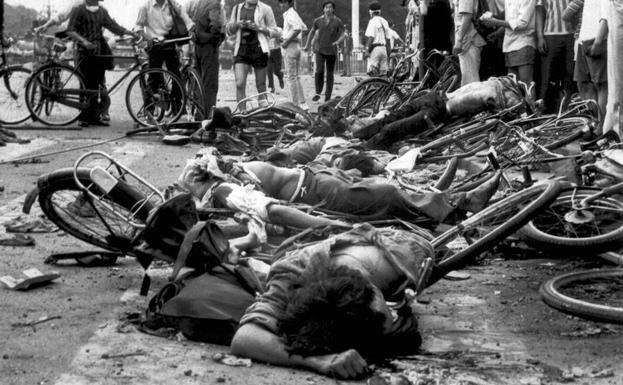 China ignora peticiones de las Madres de Tiananmen en 29 aniversario masacre