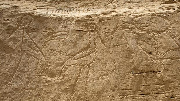 Descubren pinturas rupestres y tumbas prehistóricas en el desierto de Egipto