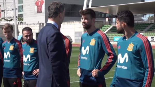 Rodrigo manda un mensaje de tranquilidad sobre Piqué