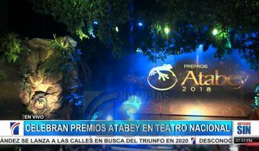 Este domingo se celebra de los Premios Atabey en el Teatro Nacional