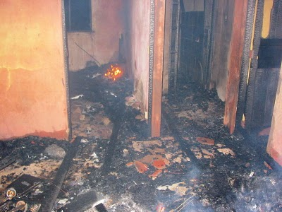 Hombre incendia vivienda de suegro en SJM
