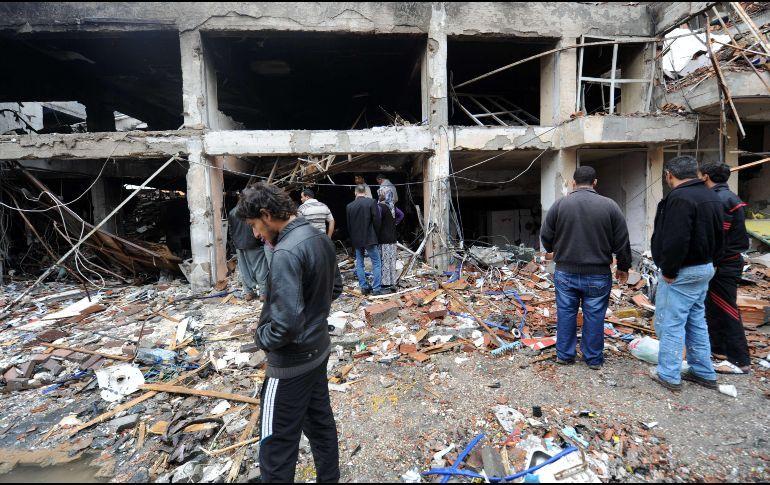 Mueren 11 civiles en nuevos ataques de la coalición internacional en Siria