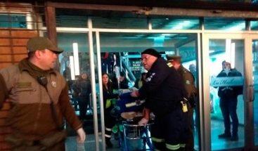Chileno dispara en centro comercial, hiere a dos personas y luego se suicida