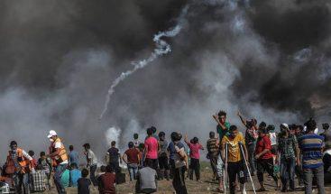Tres muertos, uno de ellos menor, y 618 heridos en las protestas en Gaza