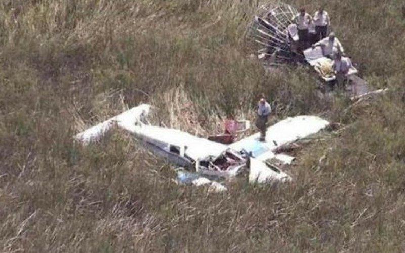 Dos muertos al estrellarse avioneta en aeropuerto de La Florida