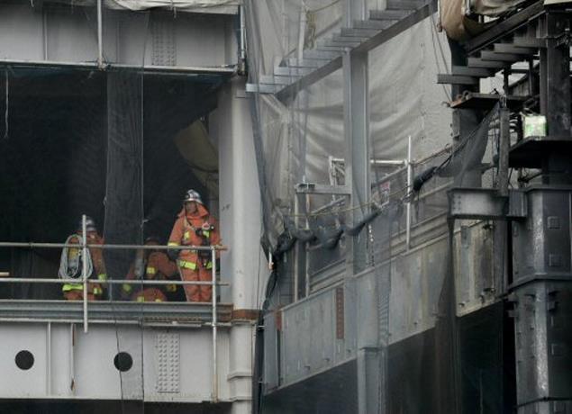 Un incendio en un edificio en obras en Tokio causa 4 muertos y 40 heridos