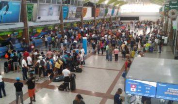 Aerodom cancela varios vuelos con destino a Miami