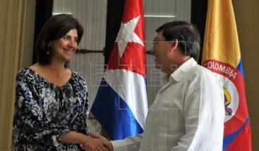 Cancilleres de Cuba y Colombia abordan en La Habana avance de diálogo con ELN
