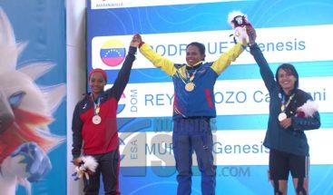 Pesas y Taekwondo aportan 7 medallas más para RD en los Centroamericanos
