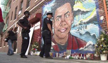 Realizan vigilia en lugar donde fue asesinado el joven Junior Guzmán en Nueva York