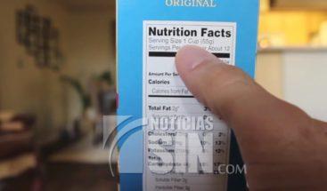 Importancia de leer las etiquetas antes de consumir un producto