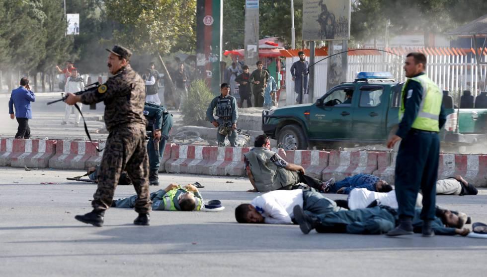 Al menos 12 muertos en atentado tras llegar del exilio vicepresidente afgano