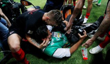 La anécdota del fotógrafo salvadoreño que terminó celebrando con Croacia el gol del triunfo