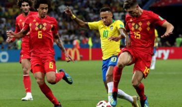 Bélgica muestra todo su potencial y aleja a Brasil del hexacampeonato