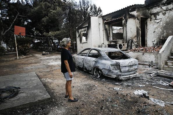 Gobierno griego encuentra indicios de actos criminales en trágicos incendios