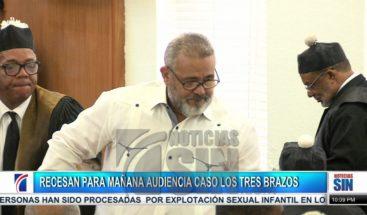 Recesan conocimiento medida de coerción acusados caso Los Tres Brazos