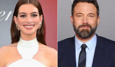 Ben Affleck protagonizará con Anne Hathaway