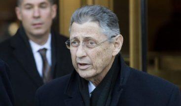 Siete años de cárcel a expresidente de Asamblea de Nueva York por corrupción