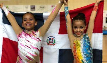 Hermanas dominicanas ganan oro en competencia de patinaje en Europa